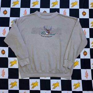Vintage Big Buck Crewneck Size XL 90s